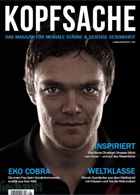 Cover mit RAAM Sieger Christoph Strasser
