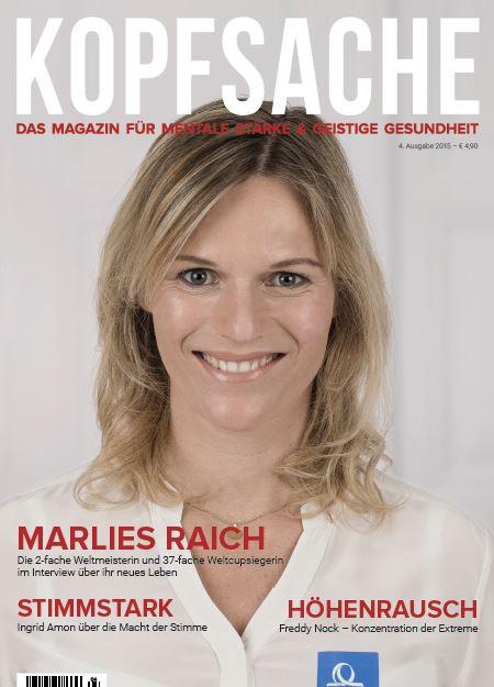 Cover Marlies Raich